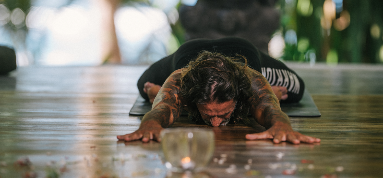 Yoga at Florblanca with Stefano