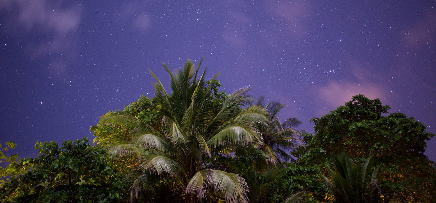 Beautiful Night Sky, Costa Rica Resort, Florblanca