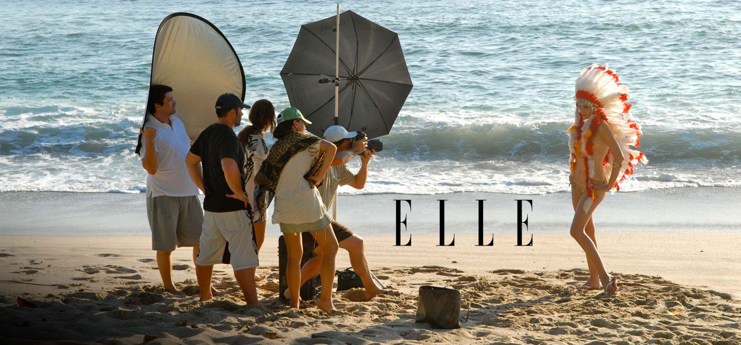 Elle Photo Shoot at Florblanca