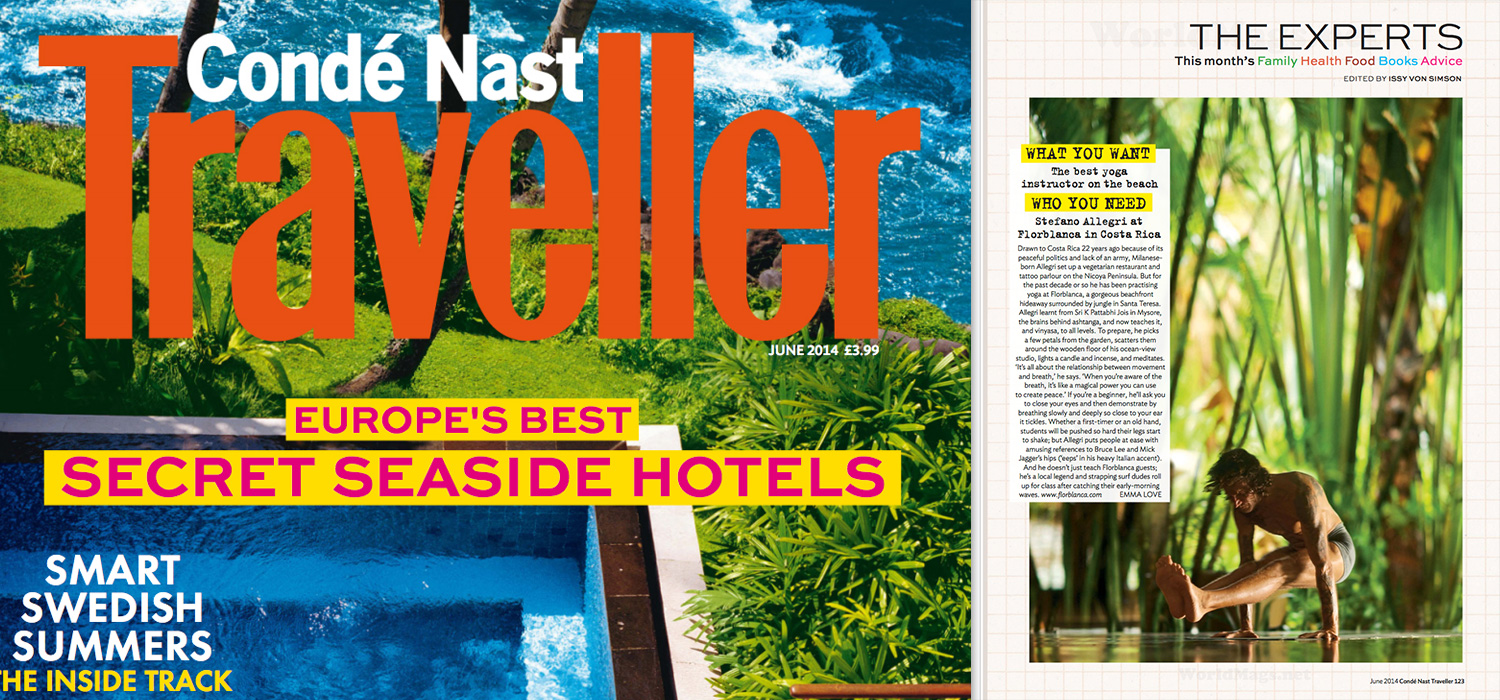 Florblanca in Conde Nast Traveller UK
