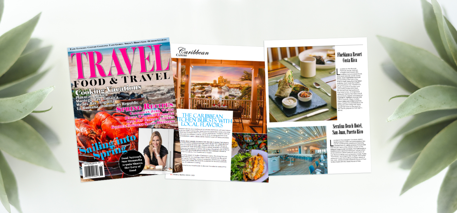 Food and Travel Magazine Caribbean Cuisine Feature