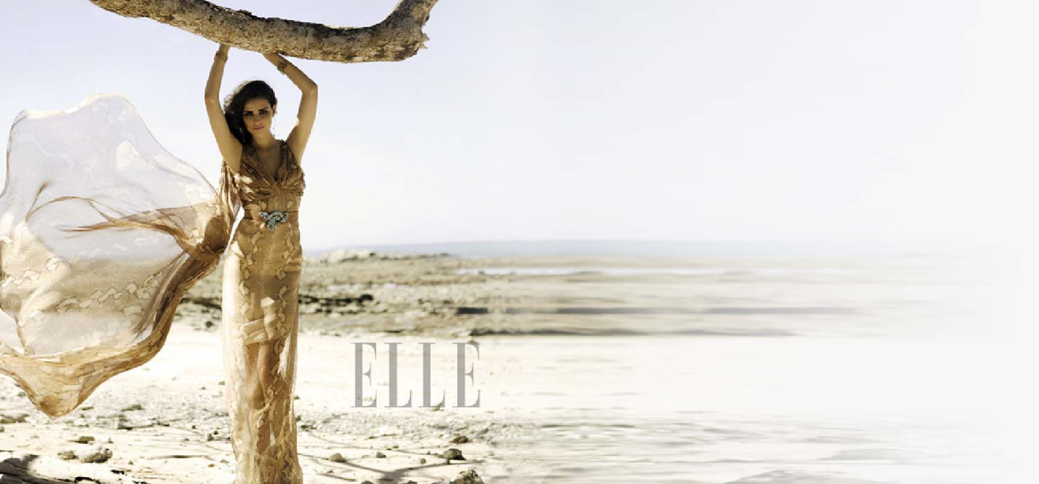 Elle magazine Photo Shoot at Florblanca
