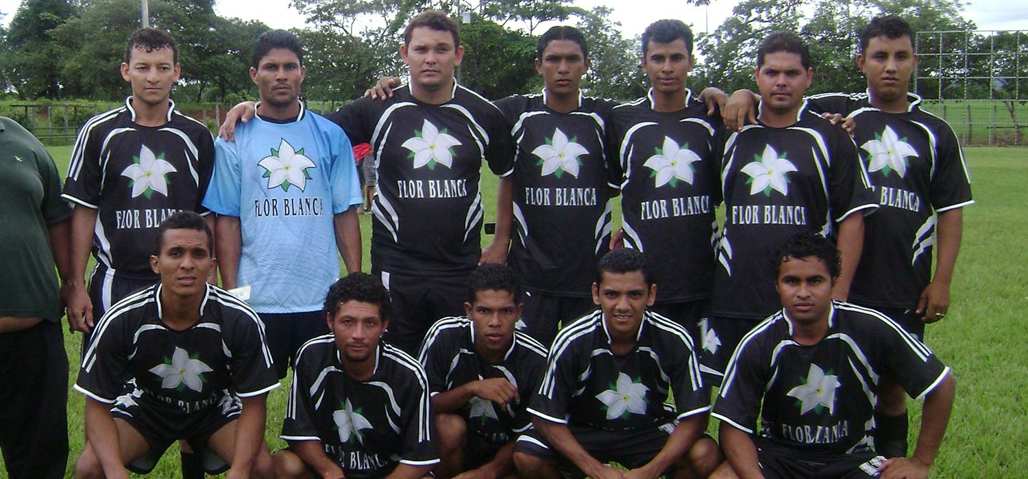 Florblanca Sponsored Soccer Team